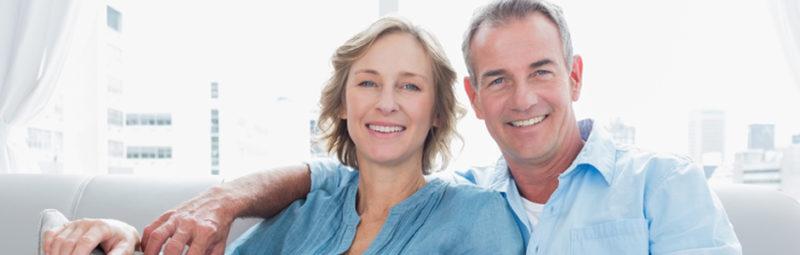 A couple showing Facial Rejuvenation